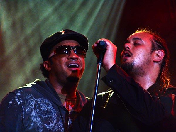 Montreux Jazz Festival 2006: Sean Paul & Beverly Knight, Santana's special guests, Auditorium Stravinski, July 12