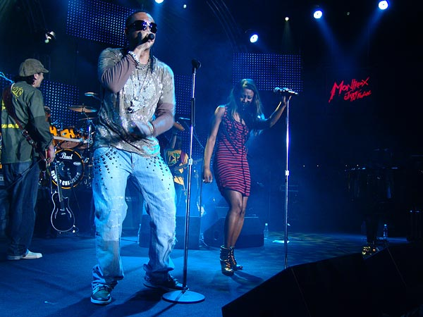 Montreux Jazz Festival 2006: Sean Paul & Beverly Knight, Santana's special guests, Auditorium Stravinski, July 12
