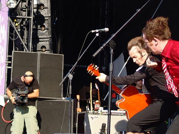 Paléo Festival 2006: Dionysos, Grande Scène, mardi 18 juillet 2006.