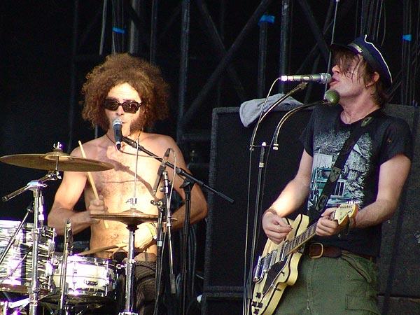 Paléo Festival 2006: The Dandy Warhols, Grande Scène, mercredi 19 juillet 2006.