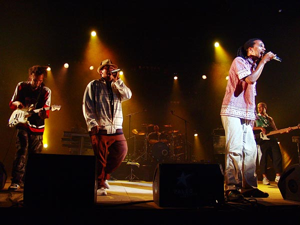 Paléo Festival 2006: Dub Incorporation, Chapiteau, mercredi 19 juillet 2006.