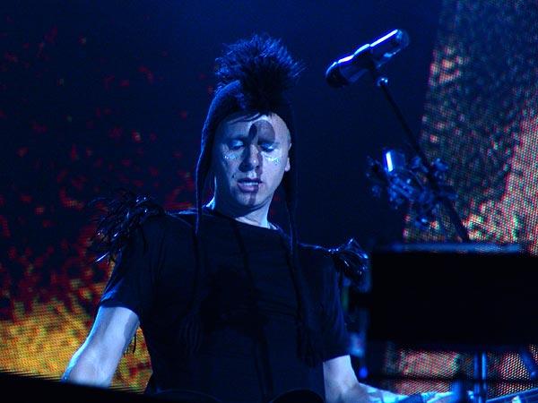 Paléo Festival 2006: Depeche Mode, Grande Scène, mercredi 19 juillet 2006.