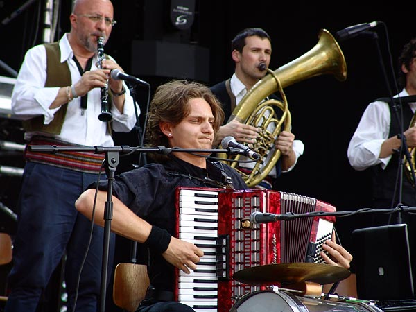 Paléo Festival 2006: Goran Bregovic, Grande Scène, jeudi 20 juillet 2006.