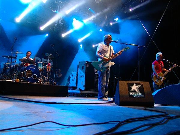 Paléo Festival 2006: Feeder, Grande Scène, samedi 22 juillet 2006.