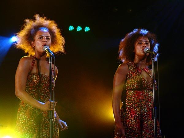 Paléo Festival 2006: Zita Swoon, Chapiteau, dimanche 23 juillet 2006.