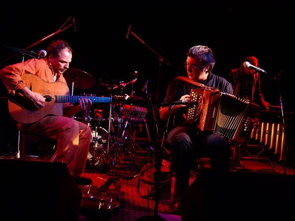 Riccardo Tesi Banditaliana, Oron World Festival, jeudi 3 août 2006.