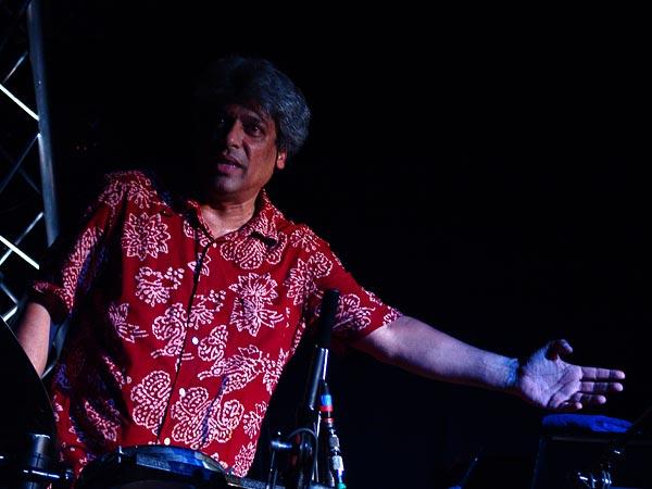 Trilok Gurtu, Oron World Festival, vendredi 4 août 2006.
