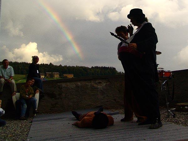 Clowns in Liberta, Oron World Festival, samedi 5 août 2006.