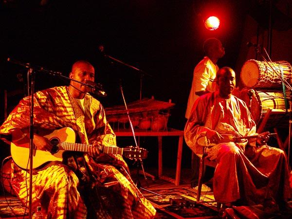 Les Frères Coulibaly, Oron World Festival, samedi 5 août 2006.