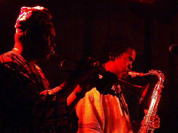 Gangbé Brass Band, Oron World Festival, samedi 5 août 2006.