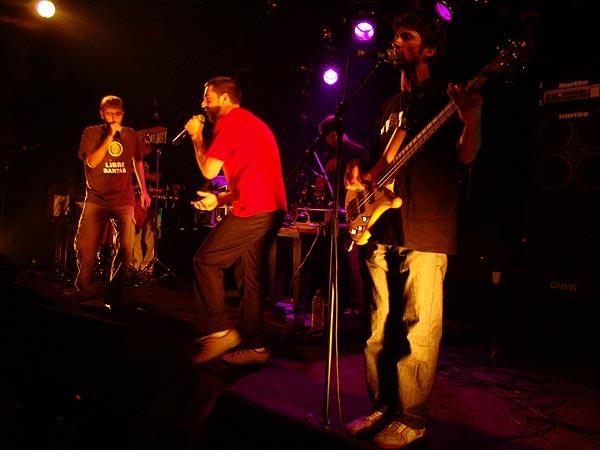 Mauresca Fracas Dub, Skaragga Festival, Ned - Montreux Music Club, vendredi 29 septembre 2006.