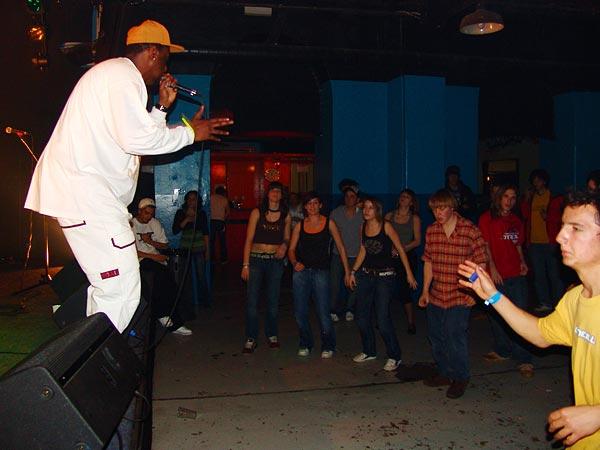 Natural Zion High, Reggae Dancehall Night, Ned - Montreux Music Club, vendredi 2 mars 2007.
