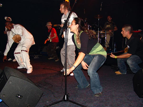 Natural Zion High, Reggae Dancehall Night, Ned - Montreux Music Club, vendredi 2 mars 2007.