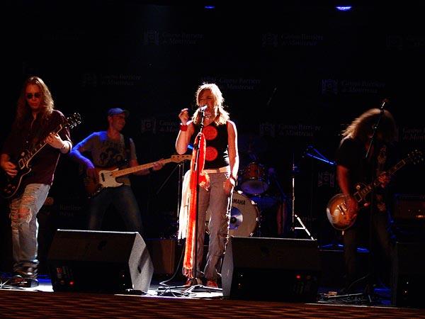 Casino Music Awards 2007: Lenox, July 13, Salon La Baule, Casino Barrière, Montreux