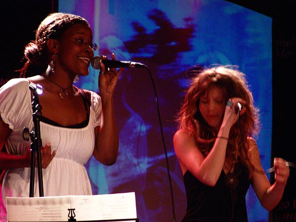 Casino Music Awards 2007: Gardrecht Garden, July 14, Salon La Baule, Casino Barrière, Montreux