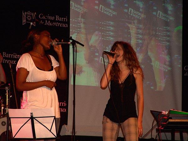 Casino Music Awards 2007: Gardrecht Garden, July 14, Salon La Baule, Casino Barrière, Montreux