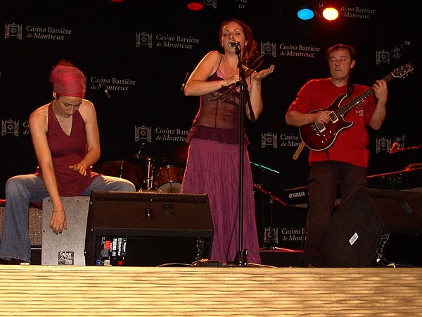 Casino Music Awards 2007: Lila Cruz, July 14, Salon La Baule, Casino Barrière, Montreux