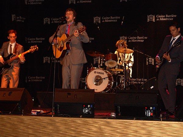 Casino Music Awards 2007: Tsar Shate II, July 14, Salon La Baule, Casino Barrière, Montreux