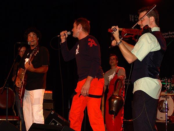 Casino Music Awards 2007: Sonalp, July 14, Salon La Baule, Casino Barrière, Montreux
