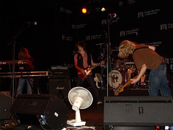 Casino Music Awards 2007 Special Guests: Crossbones (D), July 20, Salon La Baule, Casino Barrière, Montreux
