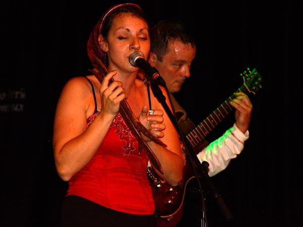 Casino Music Awards 2007: Lila Cruz, July 20, Salon La Baule, Casino Barrière, Montreux