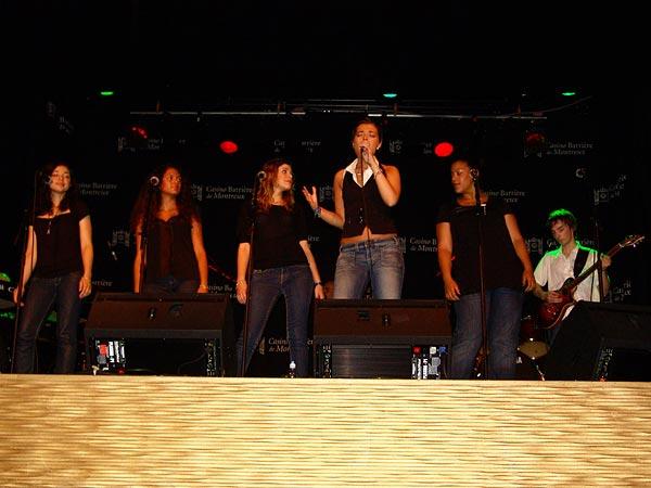 Casino Music Awards 2007 Special Guests: Little Dreams Band, July 21, Salon La Baule, Casino Barrière, Montreux