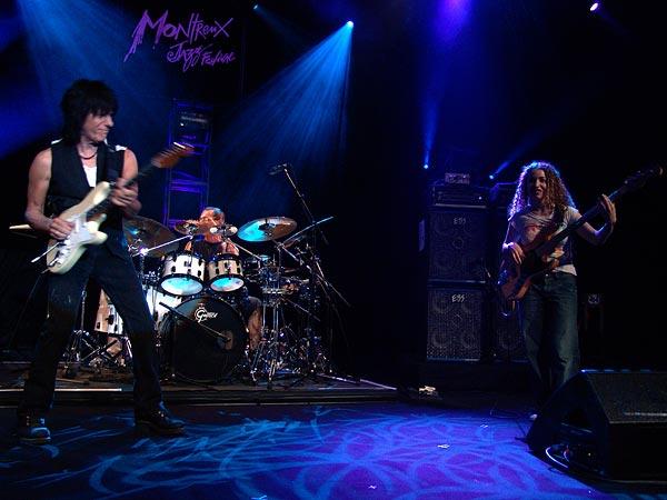 Montreux Jazz Festival 2007: Jeff Beck (feat. Vinnie Colaiuta on drums, Jason Rebello on keyboards and Tal Wilkenfeld on bass), July 15, Auditorium Stravinski