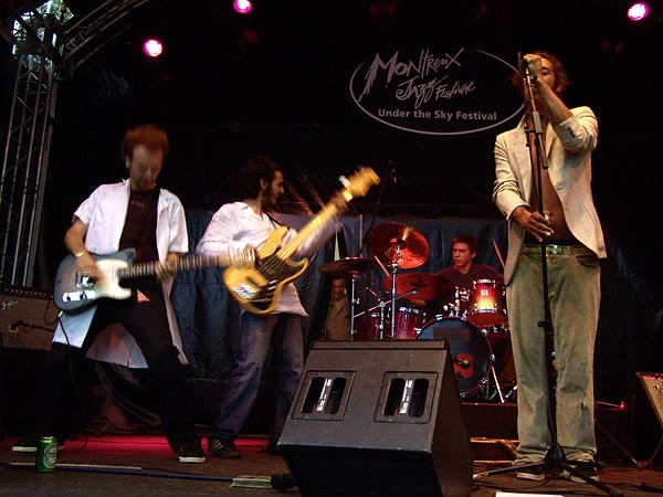 Montreux Jazz Festival 2007: The Passengers, July 19, Under the Sky - Parc Vernex