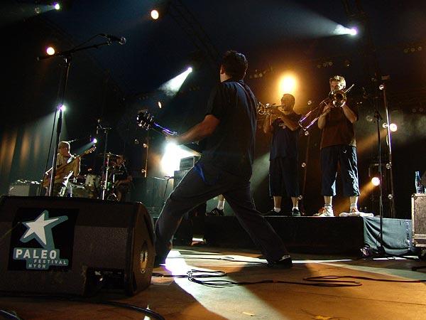 Paléo Festival 2007: La Ruda, Chapiteau, dimanche 29 juillet 2007.