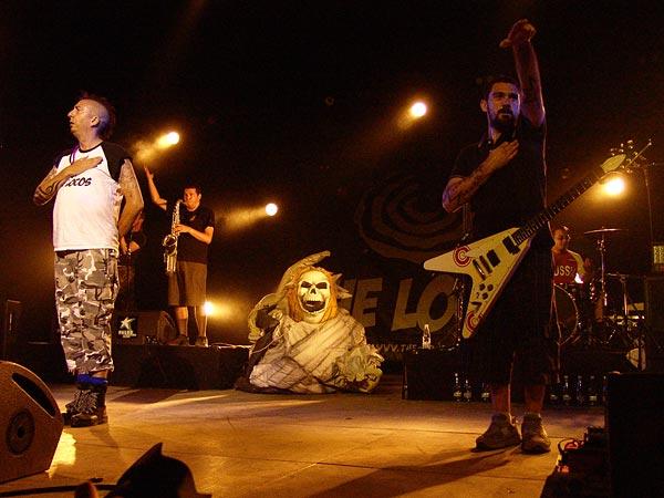 Paléo Festival 2007: The Locos, Chapiteau, dimanche 29 juillet 2007.