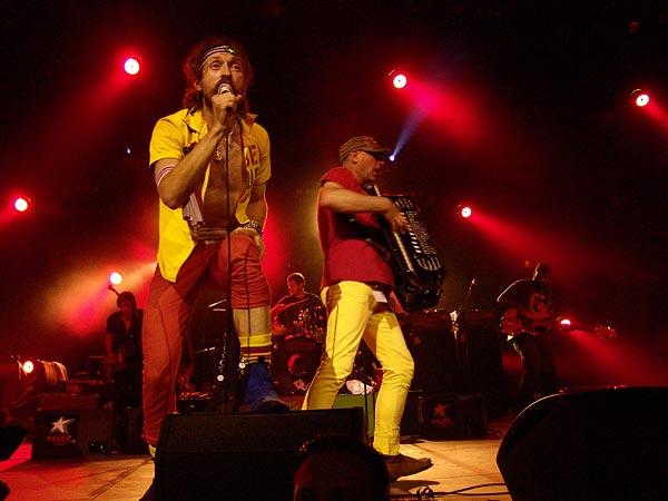Paléo Festival 2007: Gogol Bordello, Chapiteau, dimanche 29 juillet 2007.