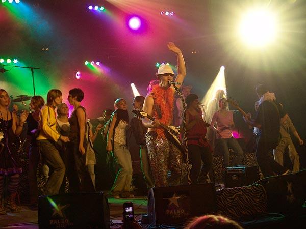 Paléo Festival 2007: Aldebert, Chapiteau, mardi 24 juillet 2007.