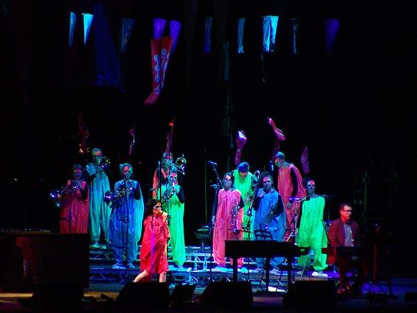 Paléo Festival 2007: Björk, Grande Scène, mercredi 25 juillet 2007.
