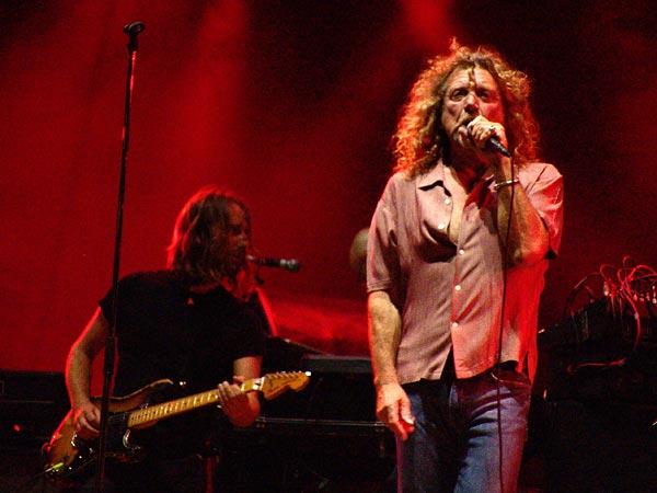 Paléo Festival 2007: Robert Plant, Grande Scène, jeudi 26 juillet 2007.