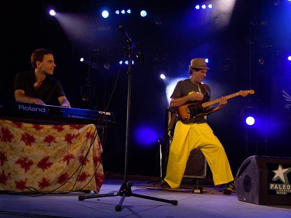Paléo Festival 2007: Inna Crisis, Chapiteau, vendredi 27 juillet 2007.