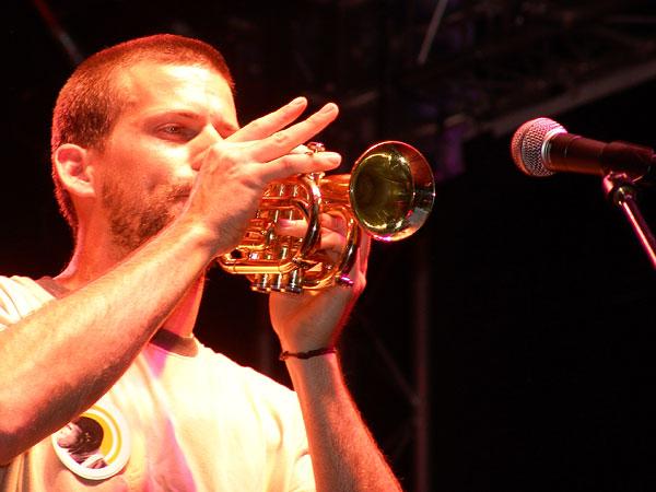 Montreux Jazz Festival 2008: Charlotte Parfois, July 4, Music in the Park