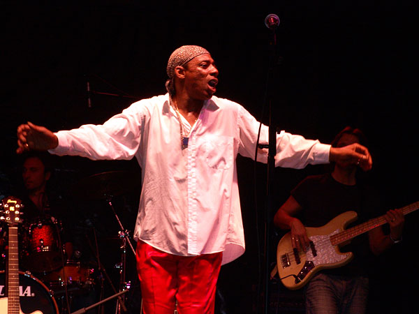 Montreux Jazz Festival 2008: Larry Woodley, July 4, Music in the Park