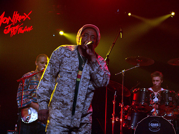 Montreux Jazz Festival 2008: Asher Selector presents Reggae in Unity feat. The Najavibes Band & Matic Horns & Guests (Quique Neira, Earl 16 & many more), July 5, Miles Davis Hall
