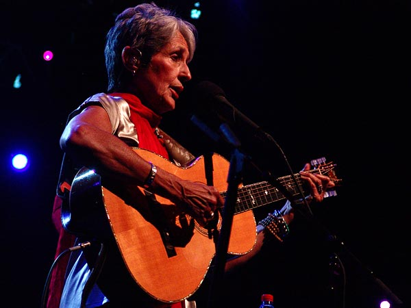Montreux Jazz Festival 2008: Joan Baez, July 6, Auditorium Stravinski