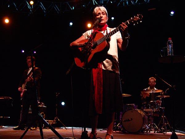 Montreux Jazz Festival 2008: Joan Baez, July 6, Auditorium Stravinski