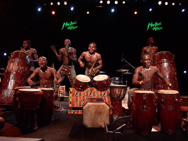 Montreux Jazz Festival 2008: Ayekoo Drummers of Ghana, July 6, Auditorium Stravinski