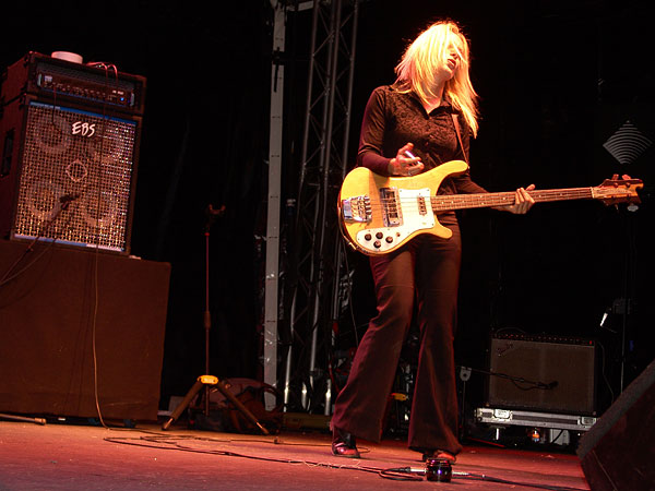 Montreux Jazz Festival 2008: L'Enfance Rouge, July 7, Music in the Park
