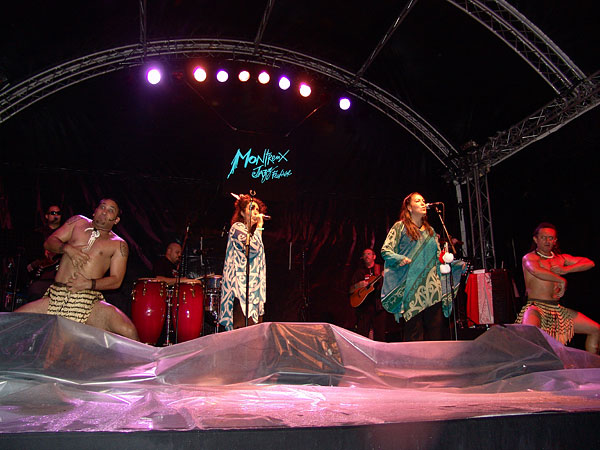 Montreux Jazz Festival 2008: Moana & the Tribe, July 11, Music in the Park