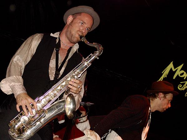 Montreux Jazz Festival 2008: Kummerbuben, July 11, Music in the Park