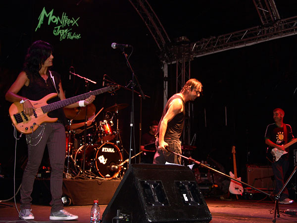 Montreux Jazz Festival 2008: Bruno Nunes & The Preserve Amazônia Band, July 12, Music in the Park