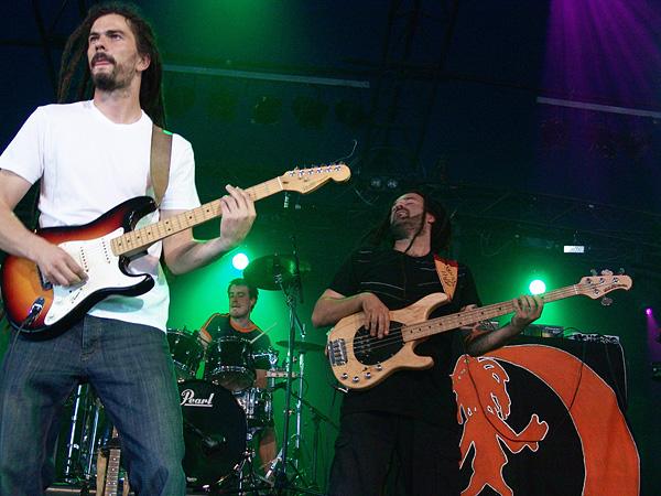 Paléo Festival 2008: Moonraisers, jeudi 24 juillet 2008, Chapiteau.