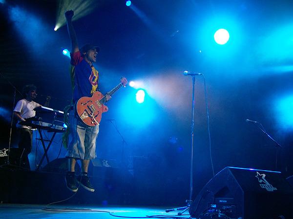 Paléo Festival 2008: Manu Chao, jeudi 24 juillet 2008, Grande Scène.