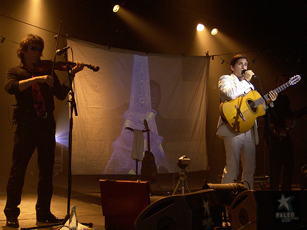 Paléo Festival 2008: Thomas Dutronc, vendredi 25 juillet 2008, Chapiteau.