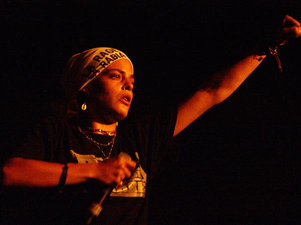 Paléo Festival 2008: Keny Arkana, vendredi 25 juillet 2008, Chapiteau.