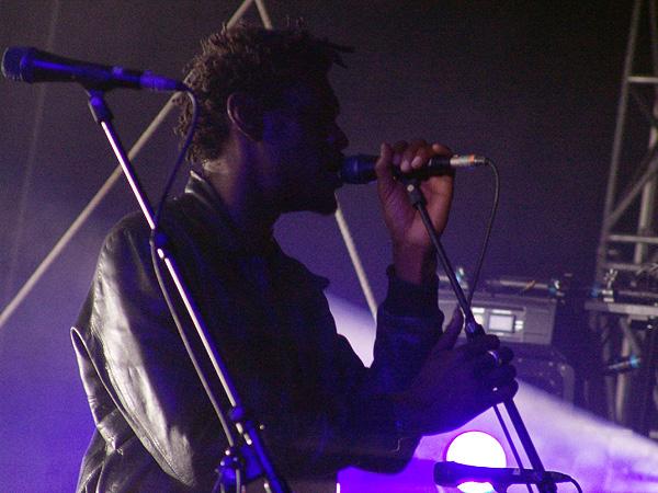 Paléo Festival 2008: Massive Attack, vendredi 25 juillet 2008, Grande Scène.